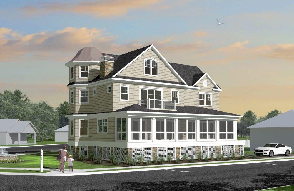 Belmar Nj Lakefront House Architect Spring Lake Monmouth County Nj